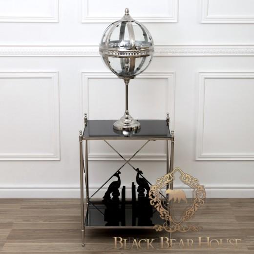 lampa stolikowa w szklanej kuli