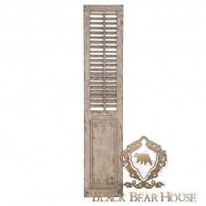 dekoracja shutters shabby chic black bear house