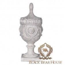 Dekoracyjna urns w style prowansalskim black bear house