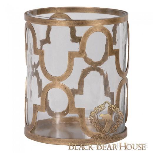 Zestaw świeczników w stylu nowojorskim black bear house