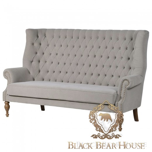 tapicerowana sofa w stylu coastal