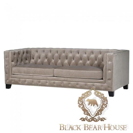 sofa pikowana w stylu nowojorskim black bear house