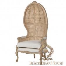 francuski fotel w stylu nowojorskim