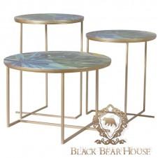zestaw stolików w stylu nowojorskim