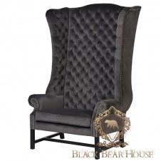 fotel black bear house meble