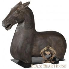 dekoracja koń black bear house