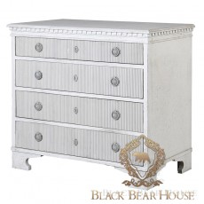 Komoda francuska bielona black bear house