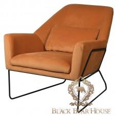 fotel modern classic black bear house