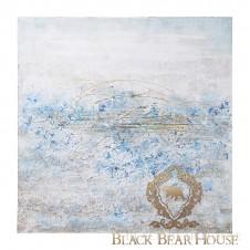 obraz abstrakcja black bear house.001