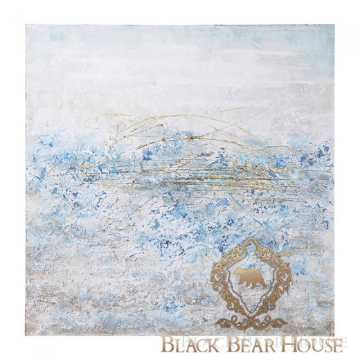 obraz abstrakcja black bear house.001