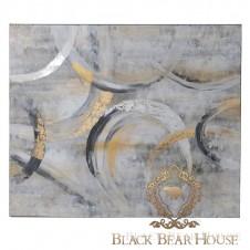 obraz grafika zdjęcie dekoracja ścienna black bear house