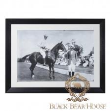 obraz grafika zdjęcie dekoracja ścienna polo black bear house
