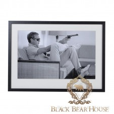 obraz steve mcqeen black bear house