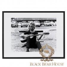 obraz grafika zdjęcie dekoracja ścienna bridget bardot black bear house