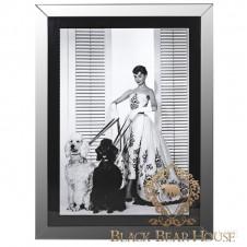 obraz grafika zdjęcie dekoracja ścienna audrey hupburn black bear house