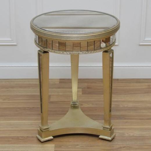 stolik lustrzany w stylu modern classic black bear house