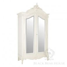 biała francuska szafa black bear house