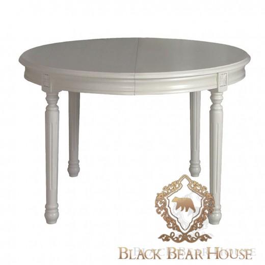 francuski szary rozkładany stół