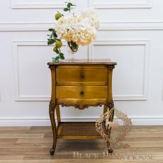 złota francuska szafka nocna black bear house