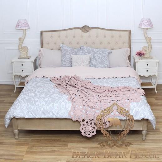 Łóżko francuskie pikowane drewniane black bear house.jpg.001