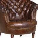 fotel chesterfield vintage