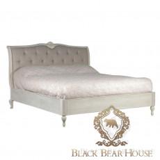 Łóżko francuskie pikowane drewniane black bear house.jpg