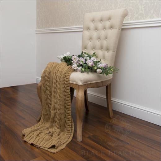 krzeslo lniane