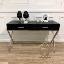 biurko modern classic skóra black bear house