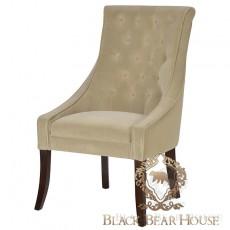 pikowany fotel w stylu nowojorskim