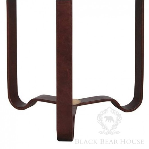 stolik kawowy ze skóry black bear house