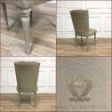pikowane krzesło black bear house