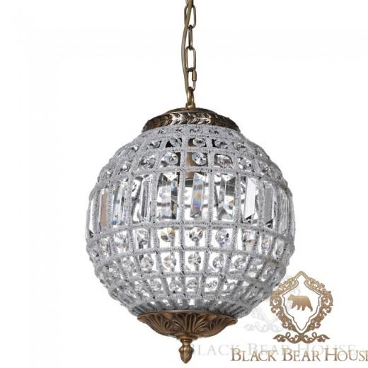 lampa żyrandol francuski modern classic black bear house.017