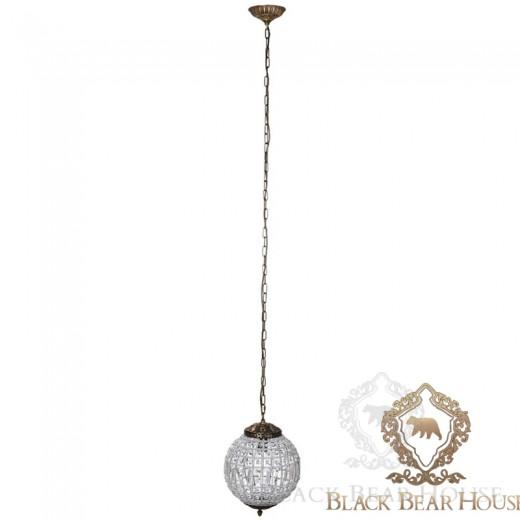 lampa żyrandol francuski modern classic black bear house.018