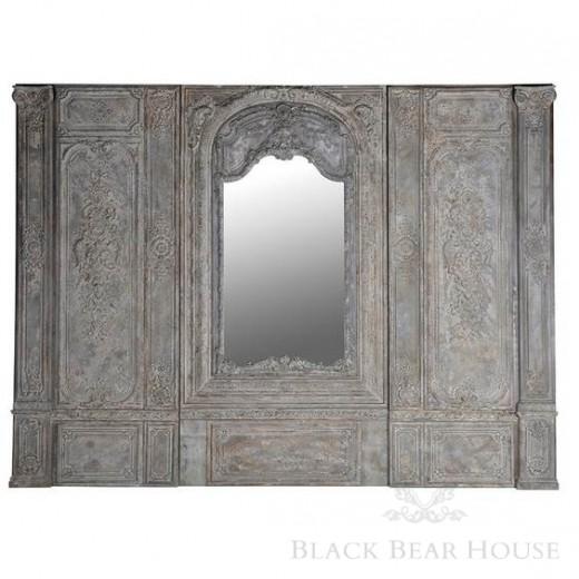 francussi panel ścienny black bear house2