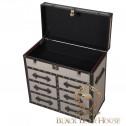 komoda kufer z takniny i skóry black bear house.002