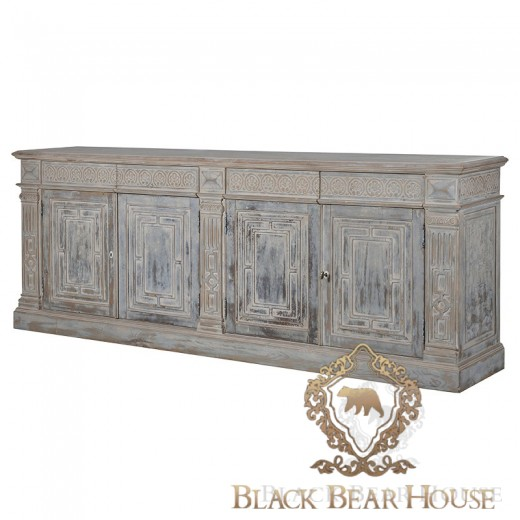 meble shabby chic black bear house