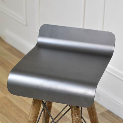 krzesło barowe black bear house 2