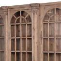 witryna potrójna drewniana black bear house 2