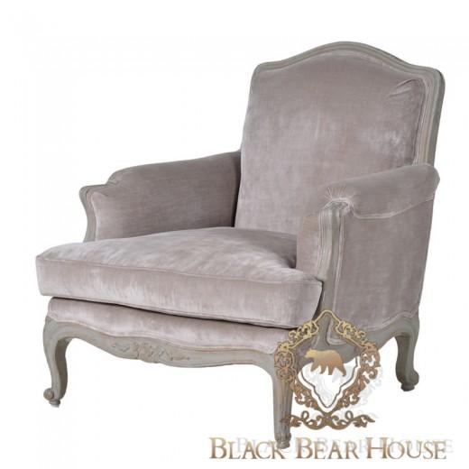 fotel francuski z weluru black bear house.001