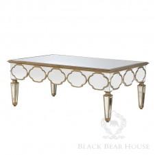 szklany stolik kawowy black bear house