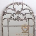 francuskie ażurowe lustro