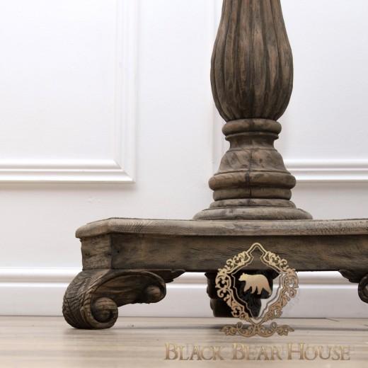 drewniany rustykalny stolik Black Bear House
