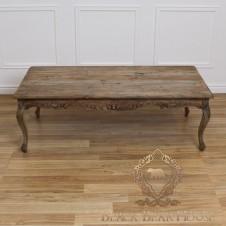 drewniany francuski stolik kawowy