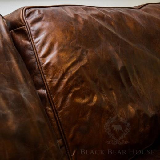 kanapa skórzana vintage black bear house 2