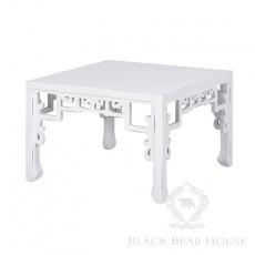 orientalny stolik biały black bear house