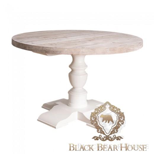 Stół drewniany coastal black bear house