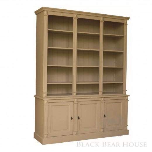 drewniana biblioteka black bear house