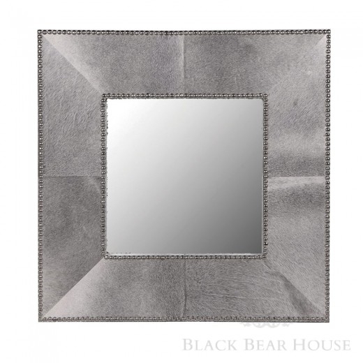 amerykańskie lustro z włosia Black bear house