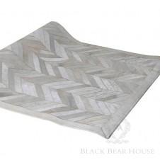 dywan w jodełkę black bear house
