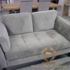 sofa z aksamitu